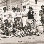 de buren van Bakkerij Snauwaert  midden de jaren '80