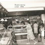receptie opening winkel 1984